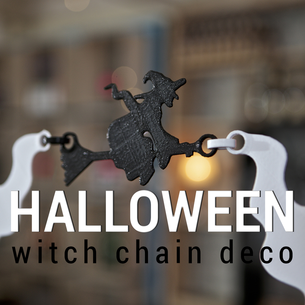 3dshook Halloween Witch Chain Deco